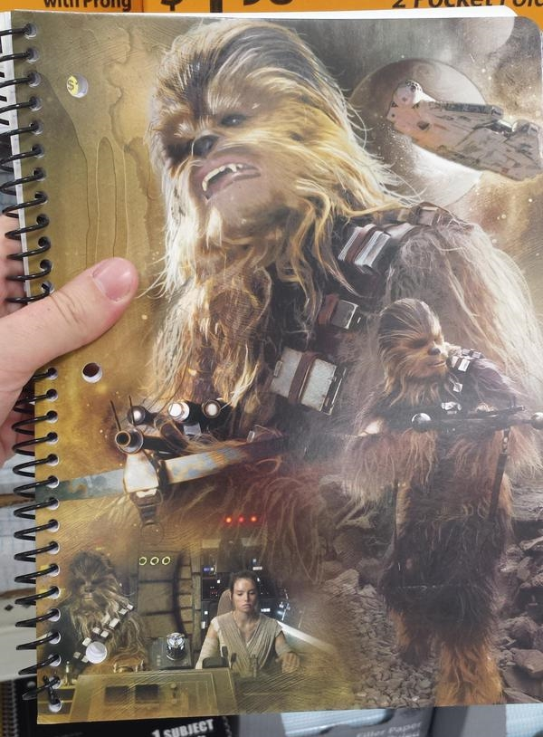 ChewbaccaNotebook